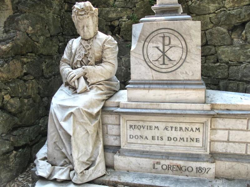 Teresa Pescia memorial, 1897