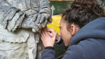 Orengo Saitta working Restoration underway