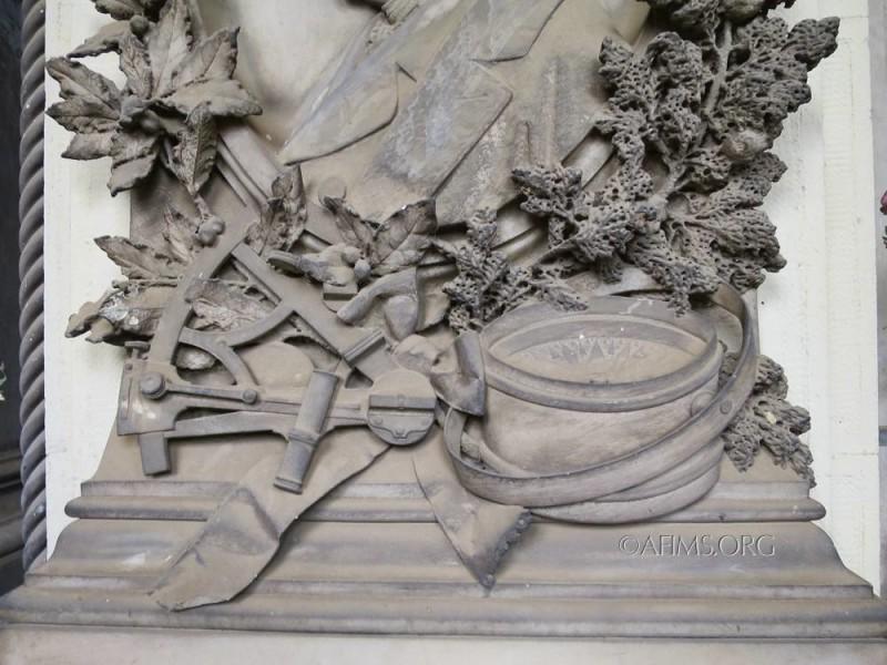 Detail of the Bodoano memorial