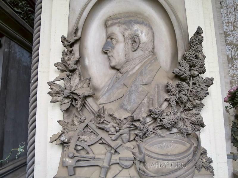 Luigi Bodoano portrait medallion