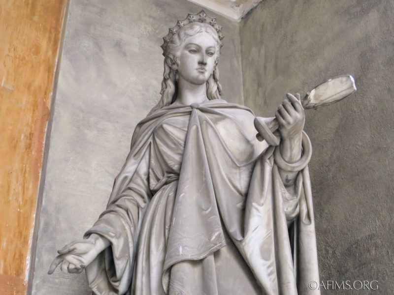 The Chiapella DeKatt memorial, Staglieno Cemetery, Genoa, Italy.