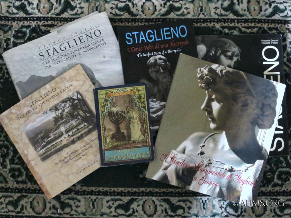 Books about Staglieno Cemetery in Genoa