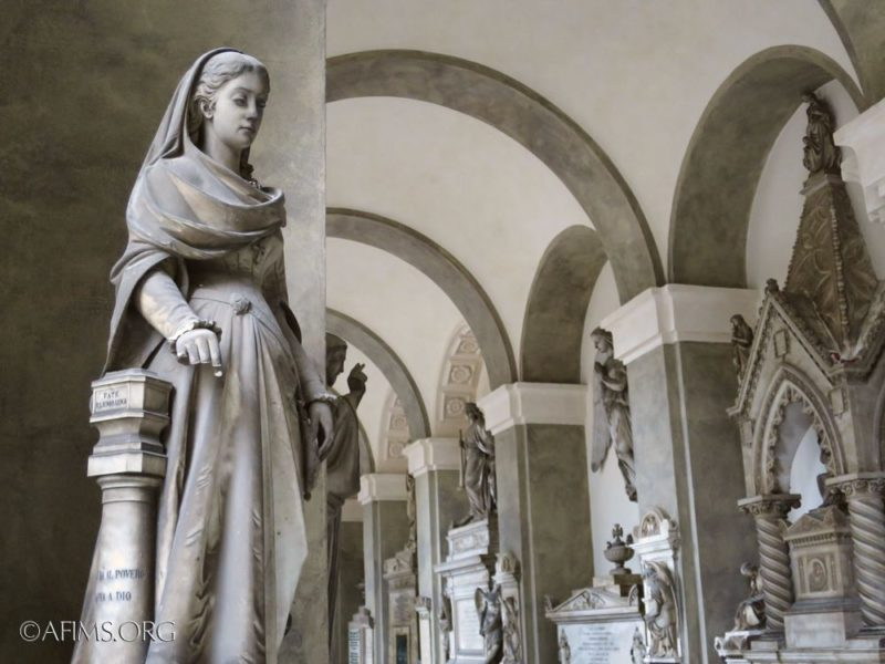 The Marchese tomb by Domenico Carli, 1881