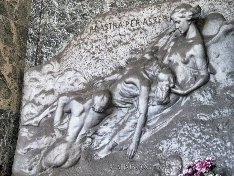 Liberty Style Symbolist sculpture