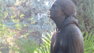 The Baroni sculpture restored